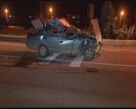 ÇEVİK KUVVET - Afyonkarahisar'da Trafik Kazası Açıklaması 1 Yaralı