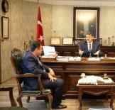 BERABERLIK - Ahat Deliorman'dan Başkan'a Ziyaret