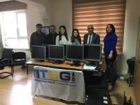 SOSYAL PROJE - Aliağa'da Okula Bilgisayar Bağışı