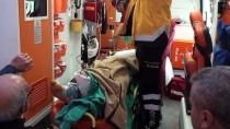 GAZIOSMANPAŞA ÜNIVERSITESI - Ayağını Saman Makinesine Kaptırdı