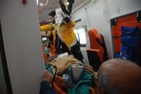 GAZIOSMANPAŞA ÜNIVERSITESI - Ayağını Yem Karma Makinesine Kaptıran Genç Ağır Yaralandı