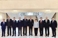 MECLIS BAŞKANı - Azerbaycan Cumhurbaşkanı Aliyev, TBMM Heyetini Kabul Etti