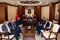 Başkan Arslan'dan Vali Toprak'a Ziyaret
