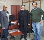 FABRIKA - Başkan Yalçın, İlçede Faaliyet Gösteren Bir Fabrikayı Ziyaret Etti