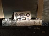 Batman'da 20 Bin 330 Paket Kaçak Sigara Ele Geçirildi