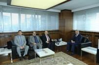 MEHMET KARAKAŞ - Bem-Bir Sen Genel Başkanı Turbay, Başkan Çelik'i Ziyaret Etti