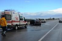 Biga'da Kaza Açıklaması 2 Yaralı