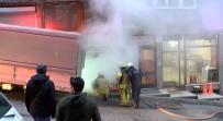 İTFAİYE ERİ - Çağlayan'da Bir Mobilya Atölyesinde Yangın Çıktı