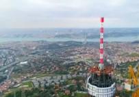 TELEVİZYON - Çamlıca Kulesi'nde Anten Yükselmeye Başladı