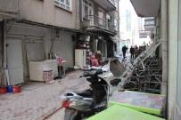 CHP Binası Yanında Meydana Gelen Yangında Kundaklama Şüphesi