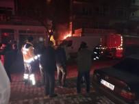 CHP Binasının Yanında Yangın Çıktı