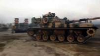 AKARYAKIT İSTASYONU - Çok Sayıda Tank Ve Fırtına Obüs Topları Suriye Sınırına Ulaştı