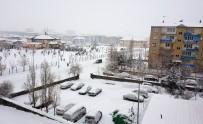 KARLA MÜCADELE - Doğu Anadolu'da Kar Yağışı