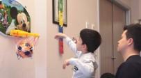 SEREBRAL PALSİ HASTASI - Doğuştan Serebral Palsi Hastası Olan Çocuk 7 Yaşında İlk Adımını Attı
