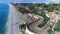 ATATÜRK BULVARI - Dünyaca Ünlü Konyaaltı Sahili Yeni Yüzüyle Yaz Ayına Yetiştirilmeye Çalışılıyor