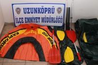 EDİRNE - Edirne'de Emniyetten Göçmen Kaçakçılığı Operasyonu
