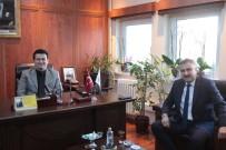 Emniyet Müdürü Aktaş'dan Baro Başkanına Ziyaret
