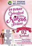 TOPLU NİKAH - Ergene'de 14 Şubat'ta Toplu Nikah Töreni Yapılacak