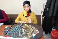 REHABILITASYON - Erzincan'da Filografi Sanatı Kadınlara Gelir Kapısı Oldu
