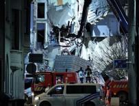 BELÇIKA - Belçika'da patlama: Bina yıkıldı