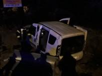 Hafif Ticari Araç Takla Attı Açıklaması1 Yaralı