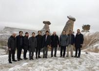 KAPADOKYA - Kapadokya'da 2018 Yılında 100 Bin Japon Turist Bekleniyor