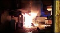 Kırşehir'de İş Yeri Yangını