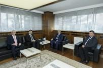KITAP FUARı - Milli Eğitim Bakan Yardımcısı Orhan Erdem Başkan Çelik'i Ziyaret Etti