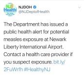 YÜKSEK ATEŞ - New Jersey'de Halk Sağlığı Uyarısı Yapıldı