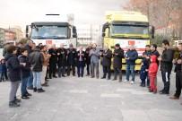SIĞINMACI - Niğde'den, Suriye'ye Yardım Tırı