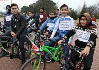 KARDEMIR KARABÜKSPOR - Öğrenciler Karabükspor İçin Pedal Çevirdi