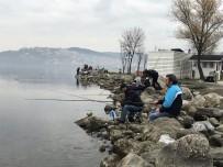 OLTA - Olta Meraklıları Soluğu Sapanca Gölü'nde Aldı