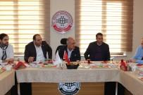 İNŞAAT SEKTÖRÜ - Rektör Çomaklı, BİRKONFED Erzurum Temsilciliğini Ziyaret Etti