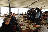 BÜYÜK GÖÇ - Şahiner Gazetecilerle Kahvaltıda Buluştu