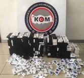 ÖZGÜRLÜK - Tırların Gizli Bölmelerinden Çıkan Kaçak Sigaralar Polisi Bile Şaşırttı