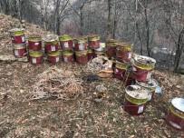 JANDARMA - Tunceli'de 26 Teneke Amonyum Nitrat Ve Patlayıcı Ele Geçirildi