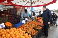 PAZARCI ESNAFI - Zabıta Ekiplerinden Donmuş Sebze Meyve Kontrolü