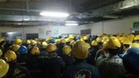 KAYYUM - Adularya İşçileri Ücretlerini Alamadıkları Gerekçesiyle Üretimi Durdurdu
