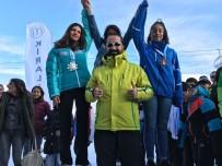 BERFIN - Ağrı'da Yılın İlk Madalyaları Kayak Branşından Geldi