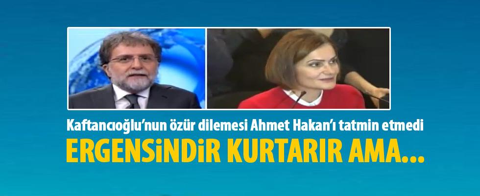Ahmet Hakan: Bu özür kurtarmaz