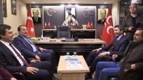 MİLLİ MUTABAKAT - AK Parti Genel Başkan Yardımcısı Karacan'dan MHP'ye Ziyaret