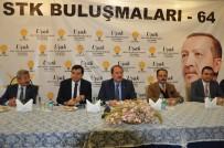 ASKERİ EĞİTİM - AK Parti Genel Başkan Yardımcısı Karacan Uşak'ta STK Üyeleri İle Bir Araya Geldi