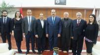 HARUN KARACAN - AK Parti'li Harun Karacan'dan Aydın Ticaret Borsası'na Ziyaret