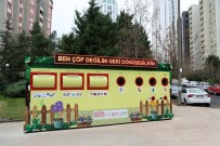 ATAŞEHİR BELEDİYESİ - Ataşehir'de Bir Yılda 9 Ton Kapak, 10 Ton Atık Pil Toplandı