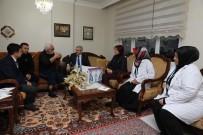 MİMAR SİNAN - Başkan Baran'dan Yaşlılara Ziyaret