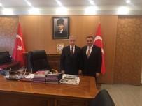 Başkan Cabbar'dan Vali Kamçı'ya Ziyaret