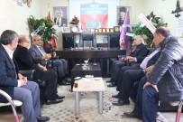 MUSTAFA ARSLAN - Başkan Demirkol'dan Seçimleri Tamamlanan Esnaf Odalarına Ziyaret