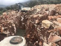 BEYMELEK - Demre'de Kanalizasyon Çalışması