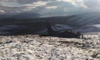 Düşen Askeri Uçağın Enkazına Ulaşmak İçin Yol Açma Çalışması Başlatıldı