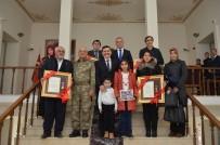 Erzincan'da Şehit Ailelerine Ve Gazilere Devlet Övünç Madalyası Ve Beratı